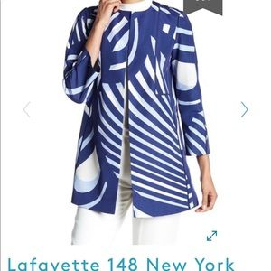 NWT LAFAYETTE 148 New York Hayes Coat size Small